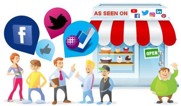 small business social media advertising